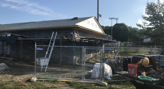 Capital-Gazette Coverage of Field House Construction