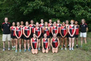 2013 Eagle Cross Country Team