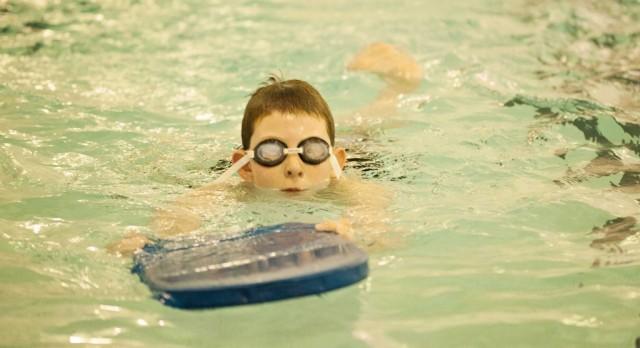 Fall Swim Lessons at the Kent City Pool