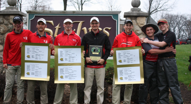 Varsity golf team claims St. Ives Match Play Championship