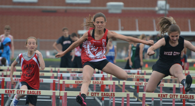 Sports Booster Invite includes Meet and School Records