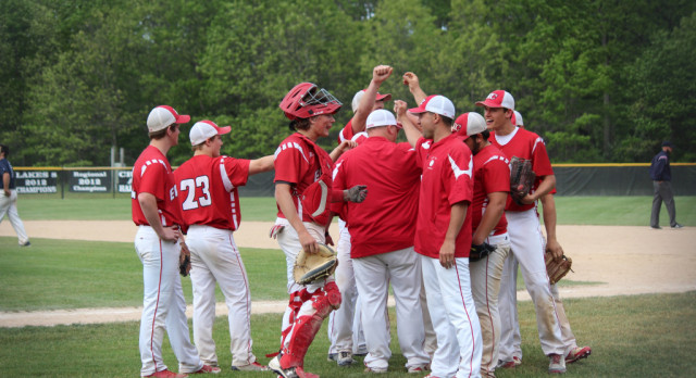 Varsity Baseball stuns the Wildcats; Advances to District Semi-Finals on Saturday