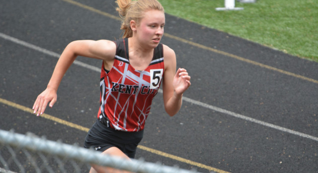 Girls' State Track Meet; Freeland is State Runner-Up and All-State Twice