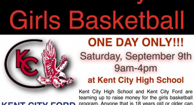 Drive One 4UR School is Saturday, September 9th