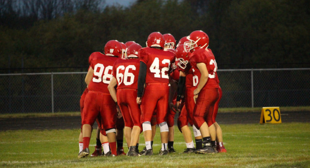 JV Football Team dominates Tri County 32-0 while earning another shut out!!