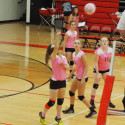 JV Volleyball Pink Out vs Lakeview Oct 10, 2017