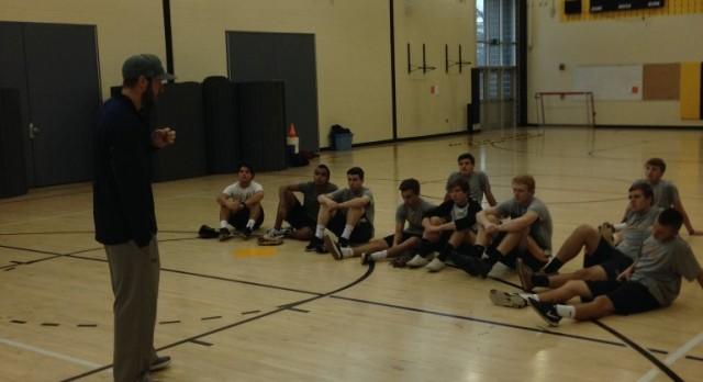Northeast Alumni; Glynn Davis Takes Time To Speak To Team Sports Baseball Class! #OnceAnEagleAlwaysAnEagle