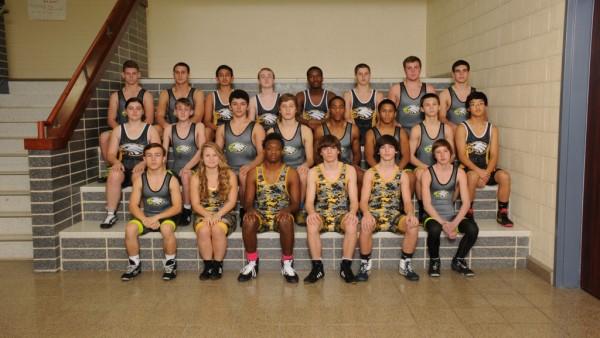 Wrestling team pic