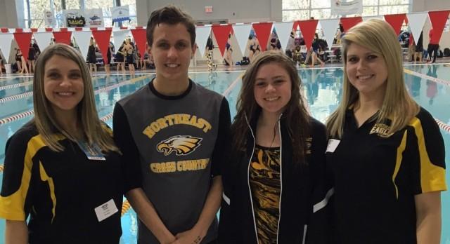 NHS Swimmers Advance To States; Noah Whiteman & Jordan DeGruchy