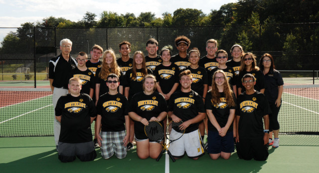 NHS Unified Tennis Takes 2nd Place at Counties! Go Eagles!