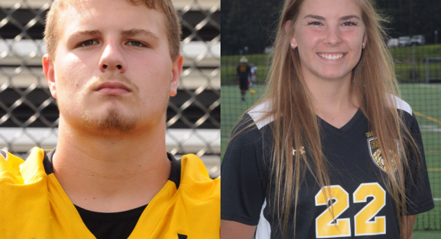 NHS Athletics October Athletes of the Month: Kinlee Bruns & Dalton Milliken