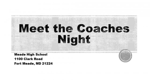 2016 Fall Meet The Coaches Night – Tomorrow August 3rd @ 7PM!