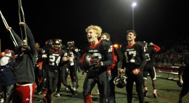 Knights win last football game of the season