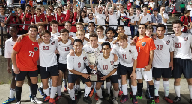 North County Soccer Retains Cup