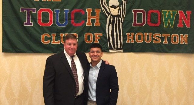 PMHS Football Recognized at Touchdown Club