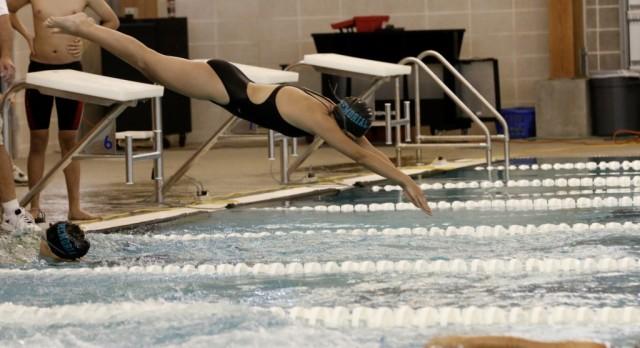 PMHS Swim Team Places at District Meet