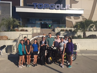 Mavericks Hold Practice at TopGolf
