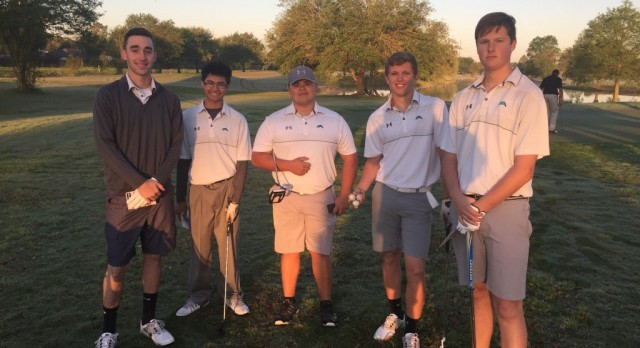 Mavericks Tee it Up for Day 1 of District Championship