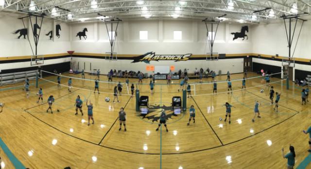 Future Maverick Volleyball Players