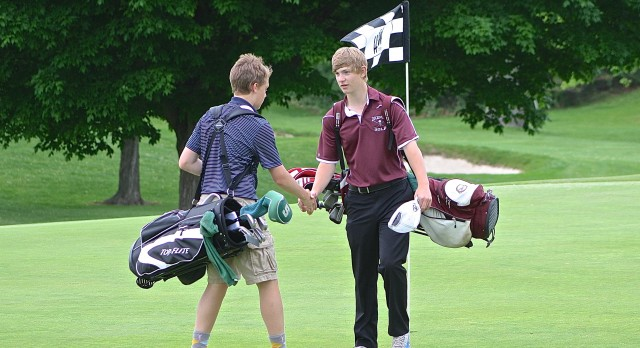 East Lansing High School Golf JV Boys finishes 1st place at OKEMOS  HIGH SCHOOL (GOLF Event)