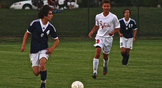 East Lansing High School Soccer Varsity Boys beats Jackson High School 4-1