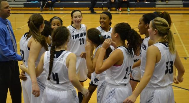 Trojans Win CAAC Blue Basketball Title