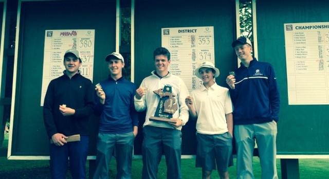 ELHS Boys Golf Wins District Championship