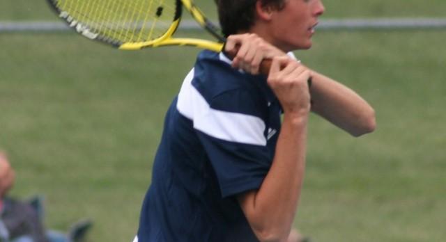 East Lansing High School Boys Varsity Tennis beat Grand Ledge High School 8-0