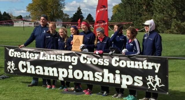 Girls' Cross Country Wins Greater Lansing Invite