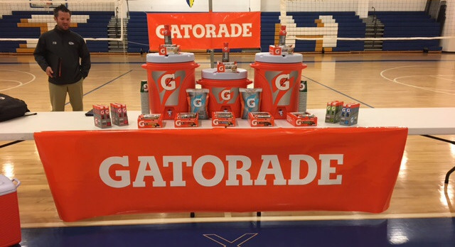 Gatorade G-WEEK Had over 300 student/athletes attend