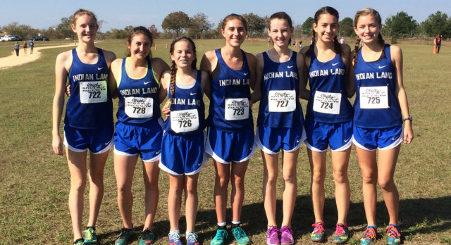Girls Cross Country Place Fourth at SCHSL State Championship, Hannah Sawyer Runner-up