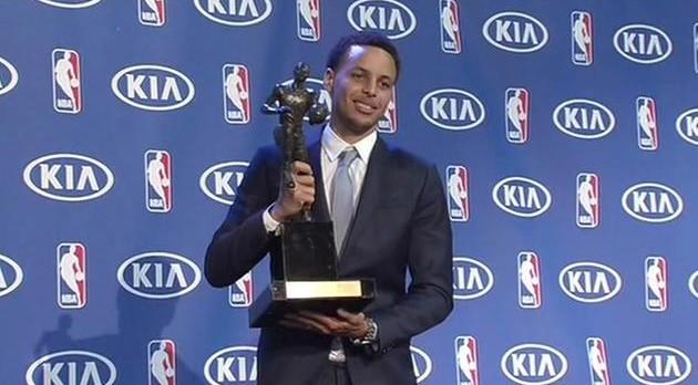 Stephen Curry NBA MVP