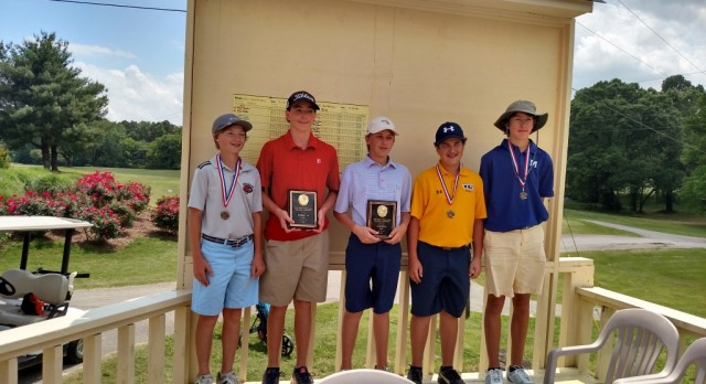 Charger Middle School Golfers have a Good Showing at District and Invitational