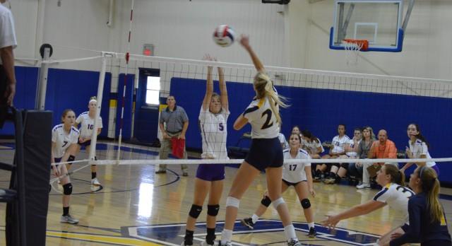 Chattanooga Christian School Girls Varsity Volleyball beat Sequatchie County High School 3-0