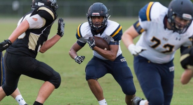 Chattanooga Christian School Varsity Football beat Lookout Valley High School 35-0