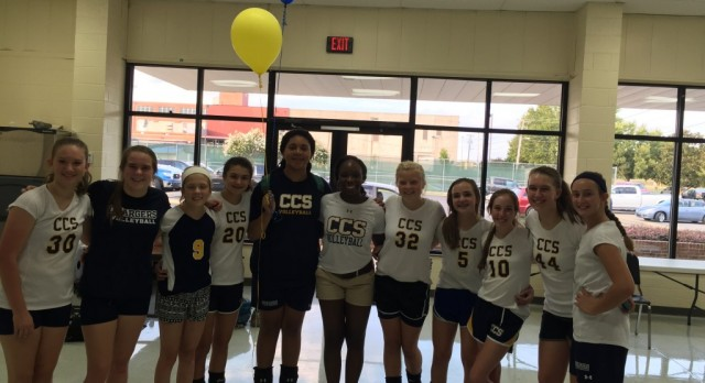 MS Volleyball Honors 8th Graders