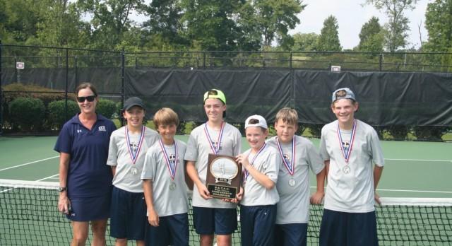 MS Boys Tennis Wins SETAC Championship