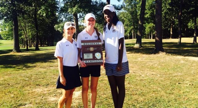 CCS Girls Golf Team Wins Region Advances to State Tournament