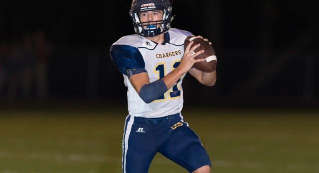 Chattanooga Christian School Varsity Football beat Davidson Academy 14-7