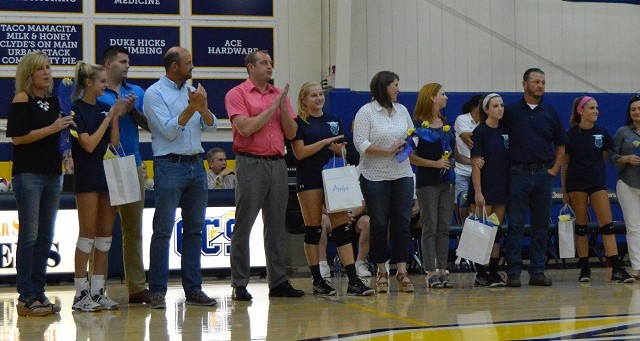 Chattanooga Christian School Girls Varsity Volleyball beat Chattanooga Southeast Tennessee Home Education Association 3-0