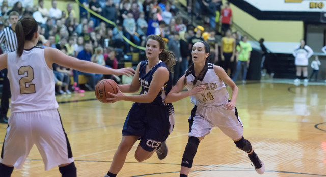 Lady Charger Battle but Fall in Region Tournament to Smith County 49-38