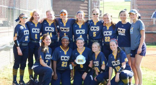 CCS Softball 2017 Regular Season District Champions