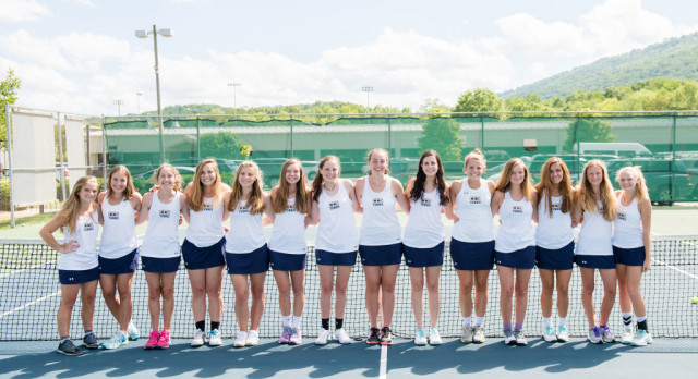 Lady Chargers Tennis Advances to Sectionals