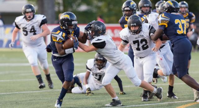 Chattanooga Christian School Varsity Football beat Lookout Valley High School 41-6