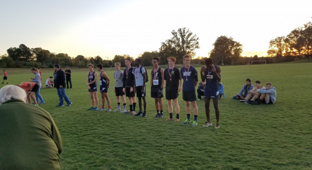 Cross Country : Eyes on Region