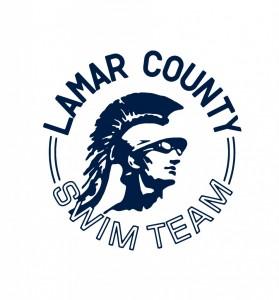 Lamar County Swim logo