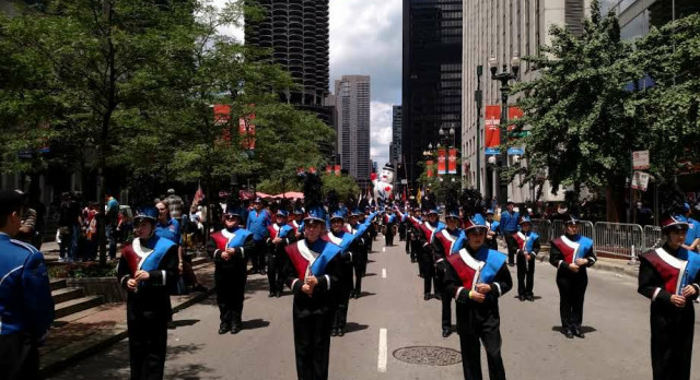 Marching Band Places 2nd in Chicago