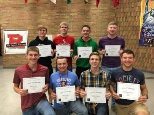 Boys Soccer Association All Academic Awards