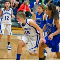 NBC 7th Grade Girls Basketball Photos Vs Oakridge on October 13, 2016