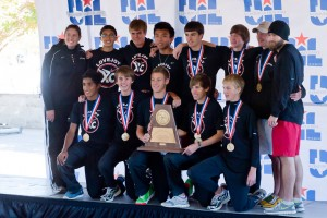 Lovejoy Boys 2010 State XC Champs